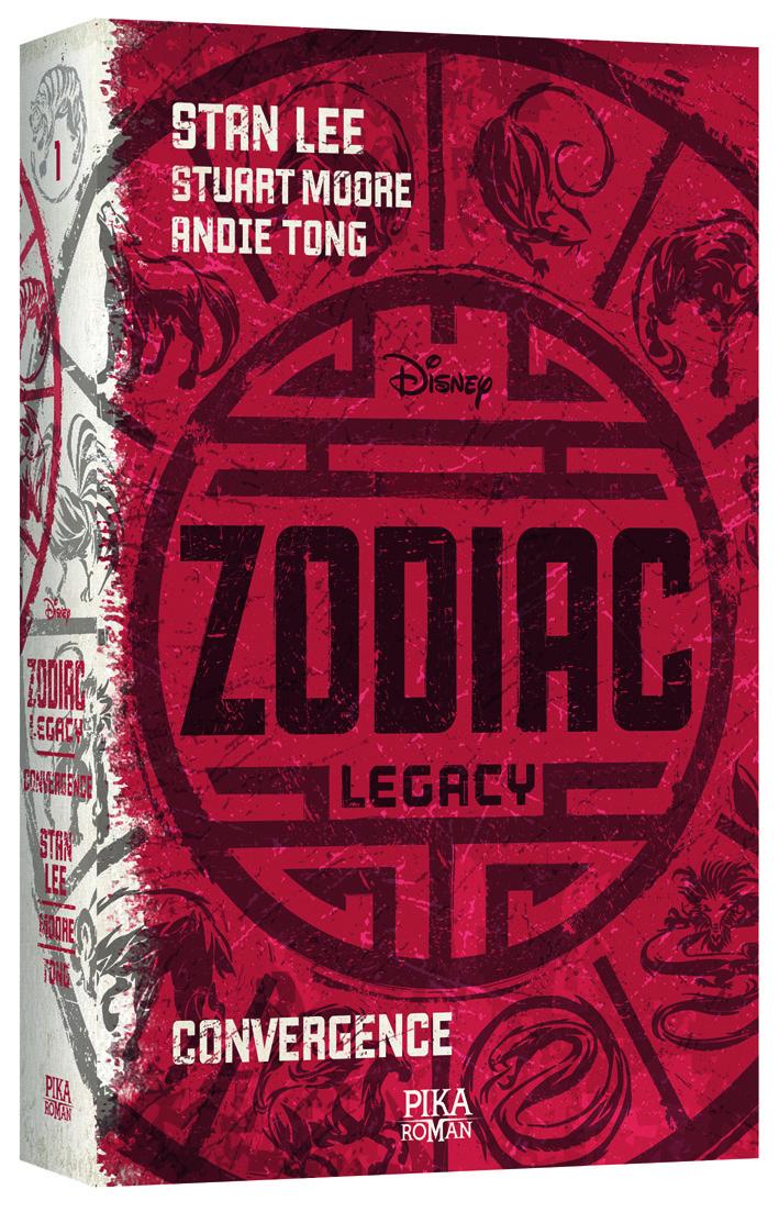 Zodiac Legacy - tome 1 : Convergence