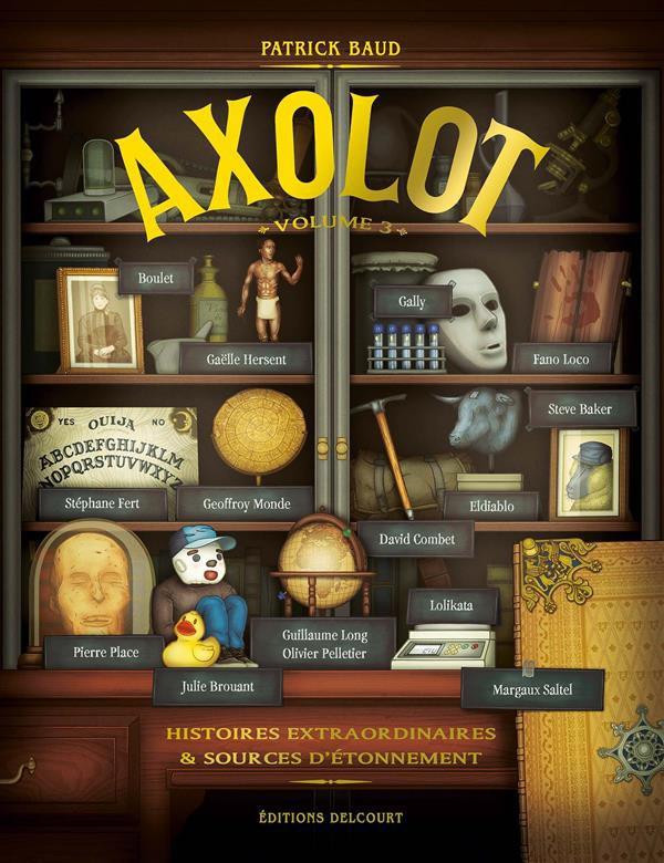 AXOLOT volume 3