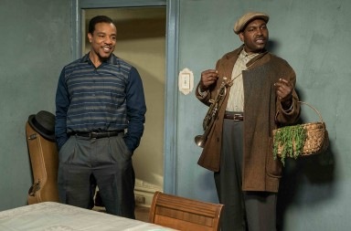 Russell Hornsby plays Lyons and Mykelti Williamson plays Gabriel in Fences from Paramount Pictures. Directed by Denzel Washington from a screenplay by August Wilson.