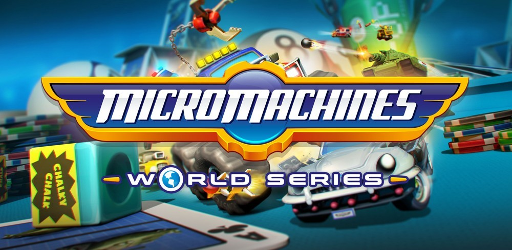 MICRO MACHINE WORLD SERIES