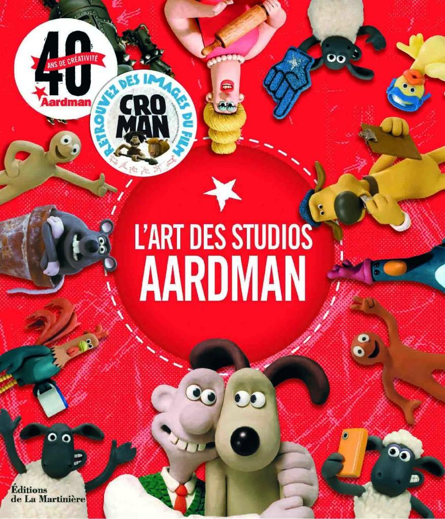 Couv L'Art des studios Aardman_web