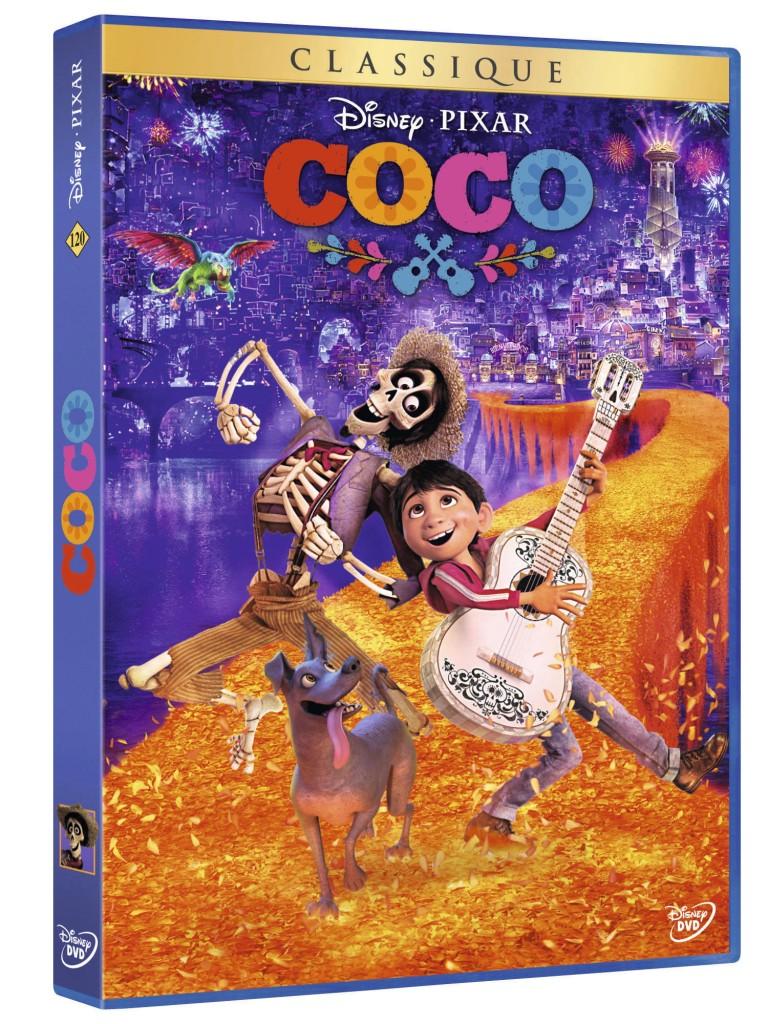 3D DVD COCO