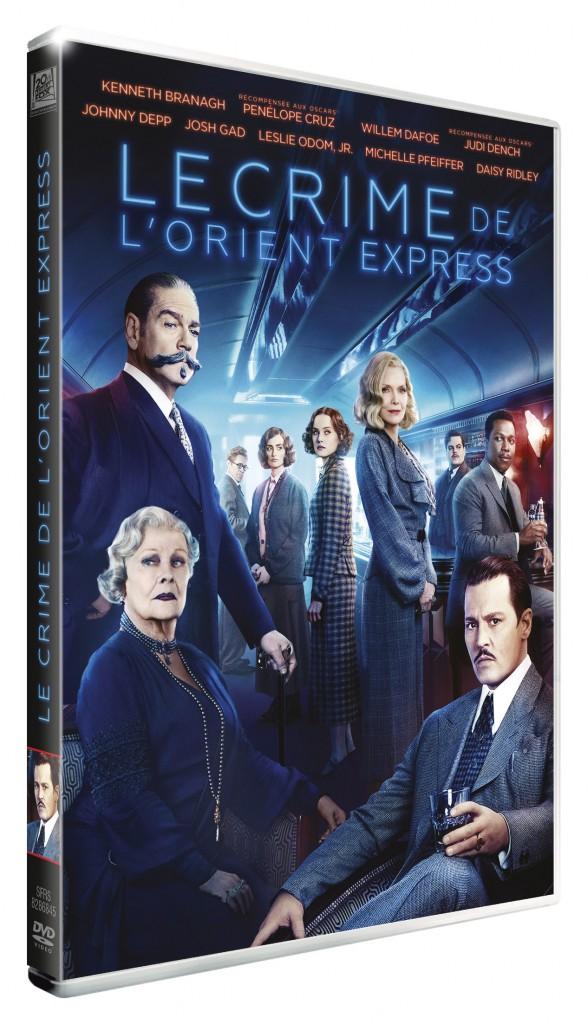 3D DVD LE CRIME DE L'ORIENT EXPRESS copie
