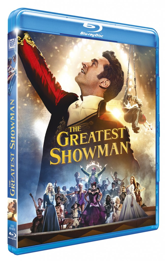 3D BR THE GREATEST SHOWMAN
