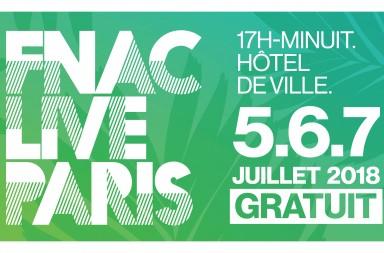 Logo FNAC LIVE PARIS - avec dates