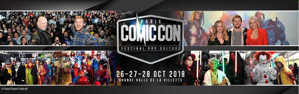 COMIC CON PARIS 2018 VISUEL2